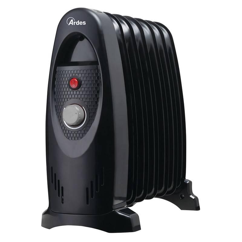 Olejový radiátor Ardes 4R07M čierny