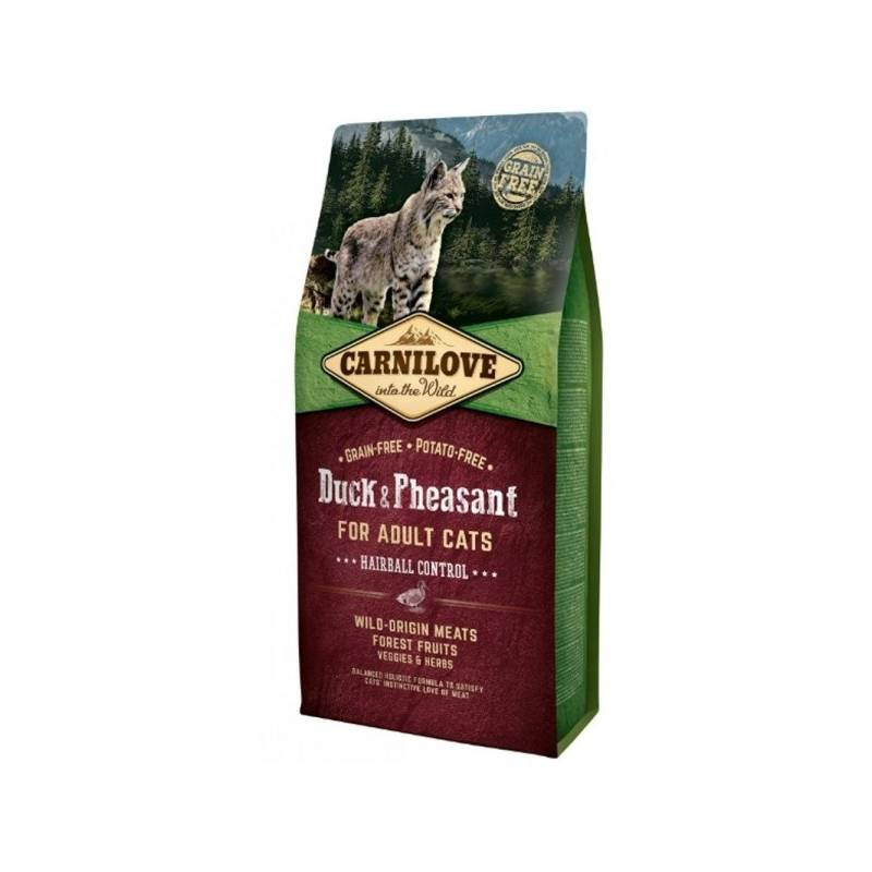 Granuly Brit Carnilove Cat Duck & Pheasant Adult Hairball Contr 2 kg
