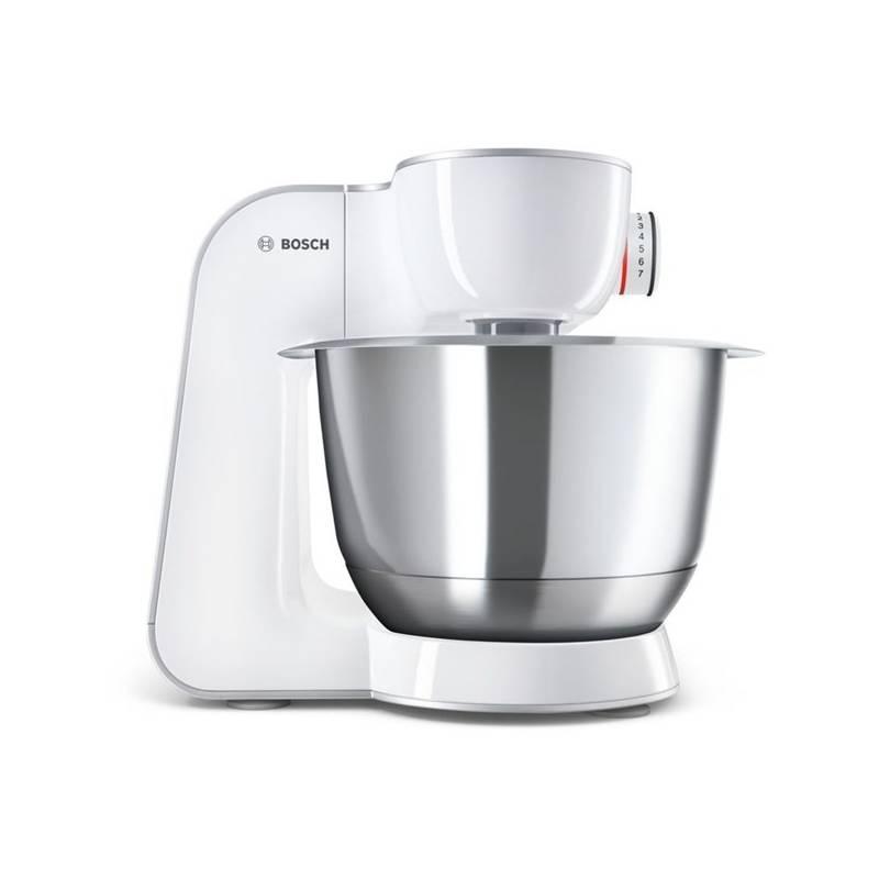 Kuchynský robot Bosch CreationLine MUM58224 strieborný/biely + Doprava zadarmo