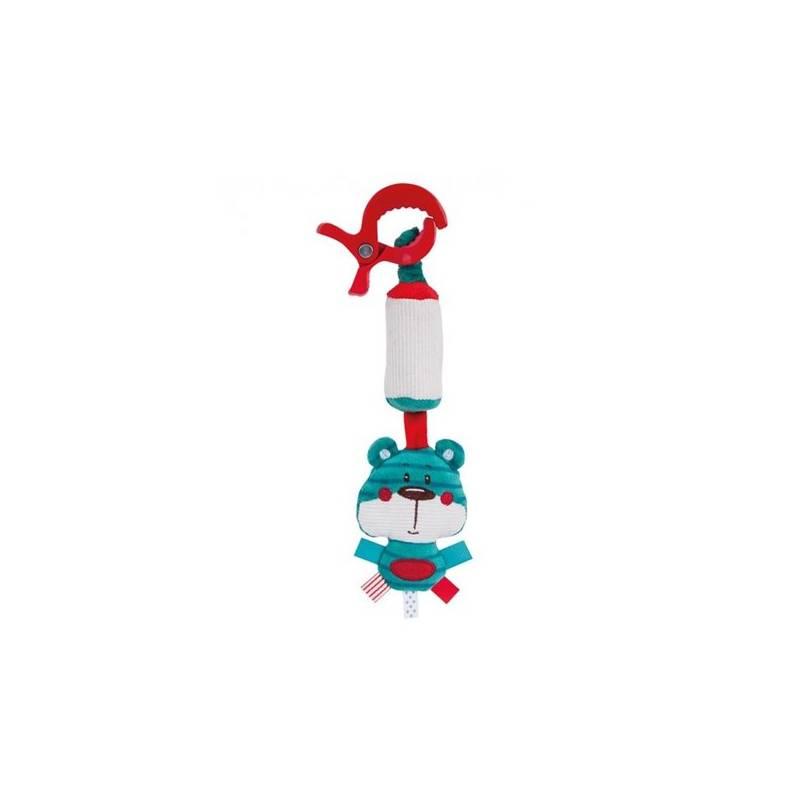 Hračka Canpol babies Forest Friends s klipom a so zvončekom, macko - modrá + Doprava zadarmo