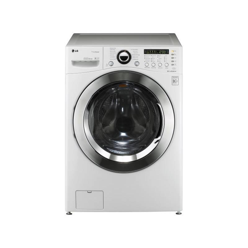 Automatická práčka LG F1255FDS biela/chróm + Doprava zadarmo