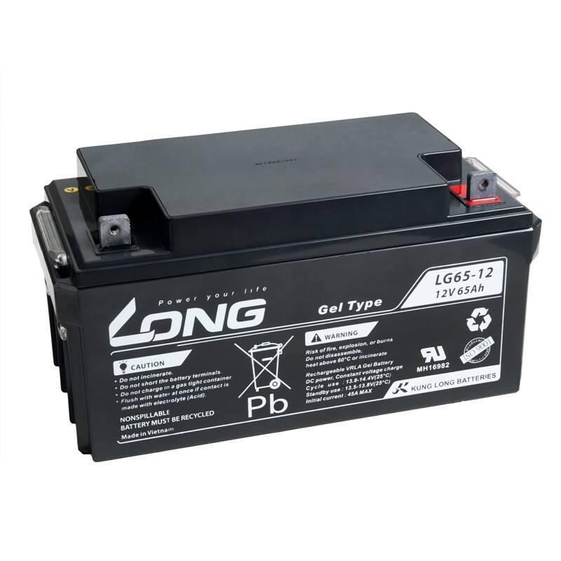 Olovený akumulátor Avacom Long 12V 65Ah M6 LongLife (WPL65-12AN) (PBLO-12V065-F8AL) + Doprava zadarmo