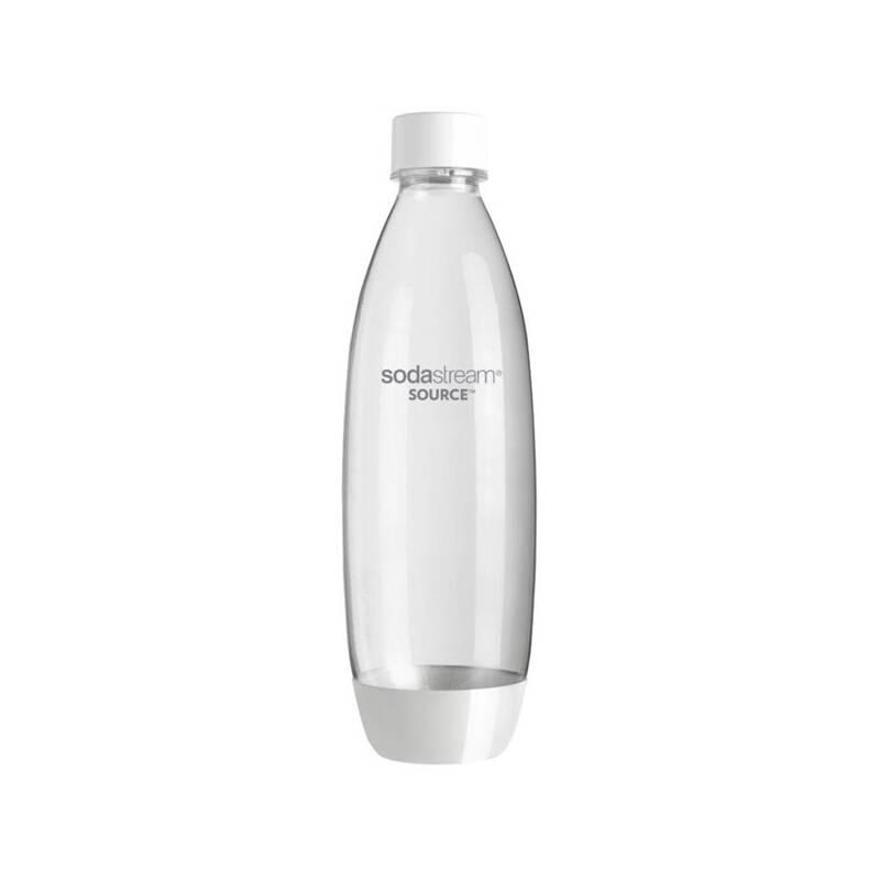 Príslušenstvo k výrobníkom sódy SodaStream Lahev SOURCE/PLAY 3Pack 1l biela/plast