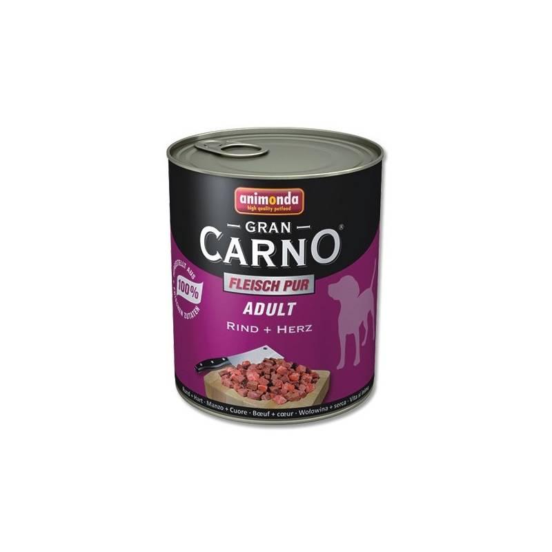 Konzerva Animonda Adult Gran Carno Plus hovězí + srdce 800g