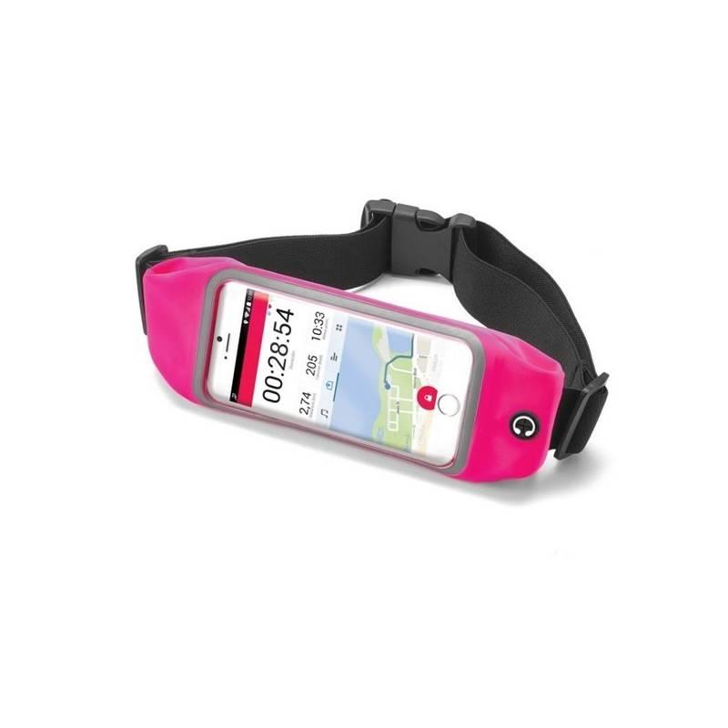"""Pouzdro na mobil sportovní Celly Runbelt, pro 4,7"""" (RUNBVIEWXLPK) růžové"""