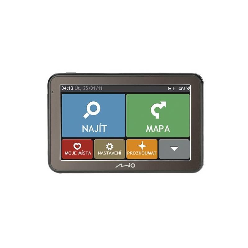 Navigačný systém GPS Mio Spirit 7500 Full Europe Lifetime (5413n5020030) čierna/sivá