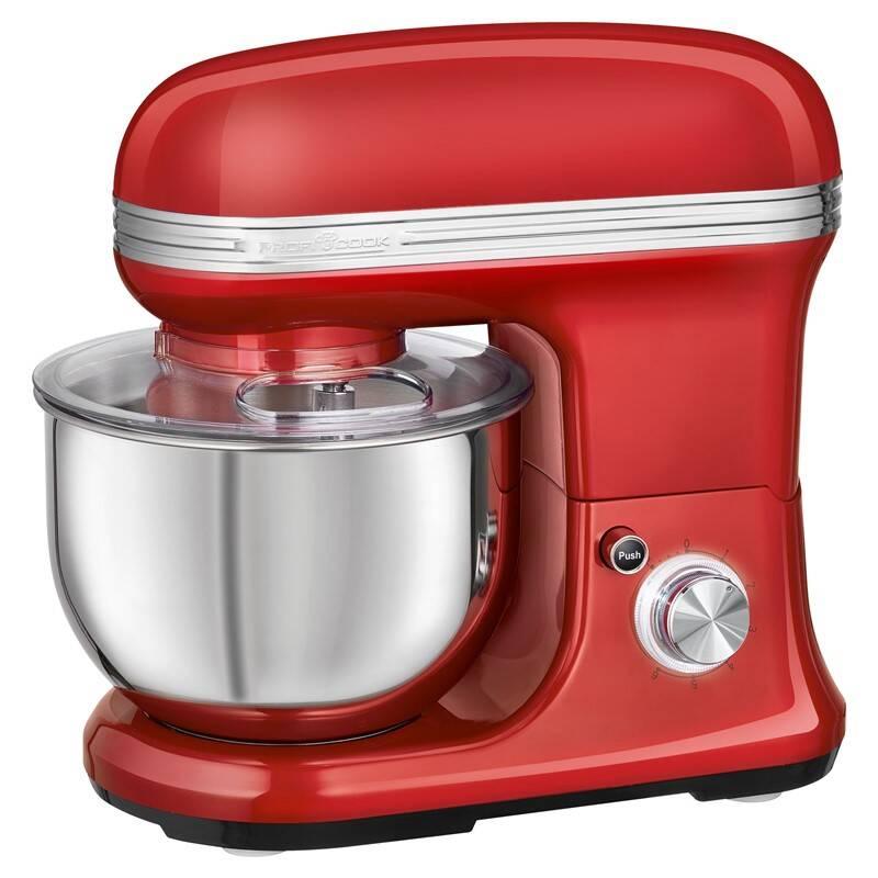 Kuchynský robot Profi Cook Vintage KM 1197RD červený