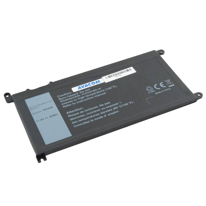 Batéria Avacom Dell Inspiron 15 5568, 13 5368 Li-Ion 11,4V 3684mAh 42Wh (NODE-I5568-368) + Doprava zadarmo