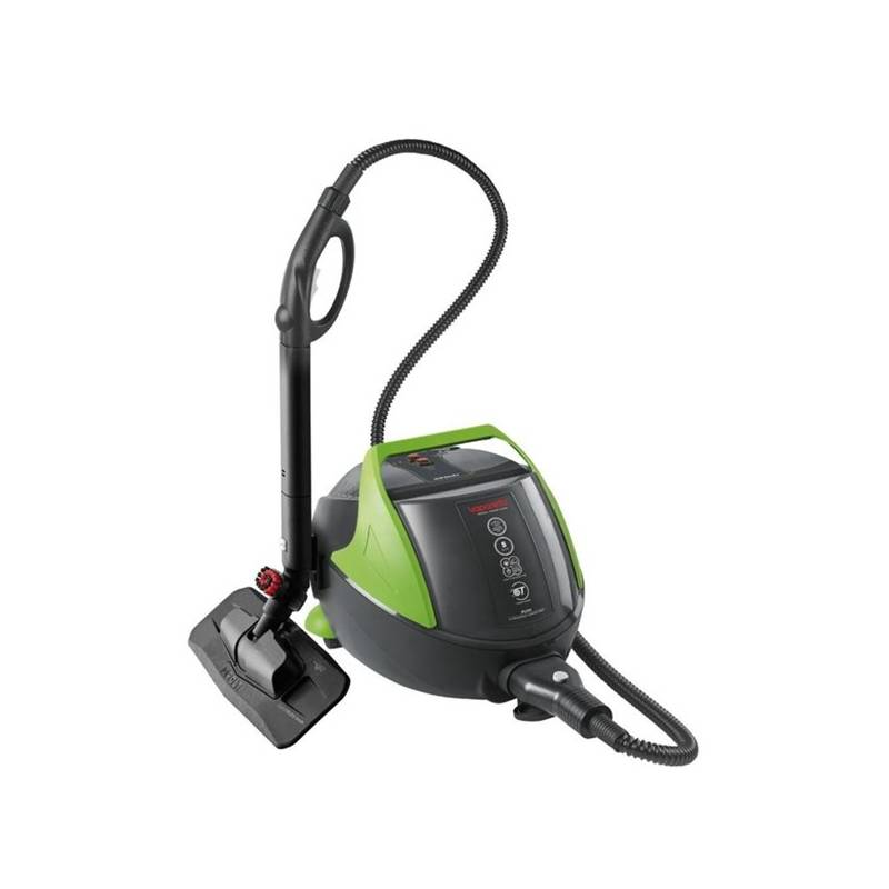 Parný čistič Polti VAPORETTO PRO 95 TURBO FLEXI čierny/zelený