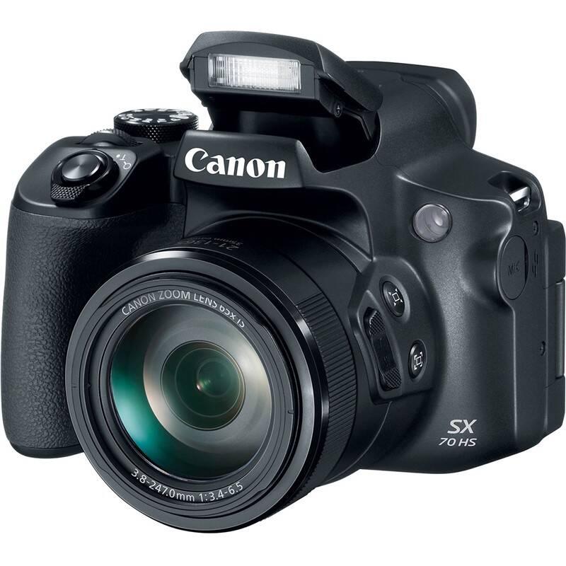 Digitální fotoaparát Canon PowerShot SX70 HS (3071C002) černý
