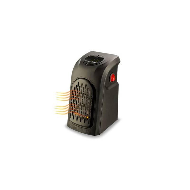 Teplovzdušný ventilátor Rovus Handy heater čierny