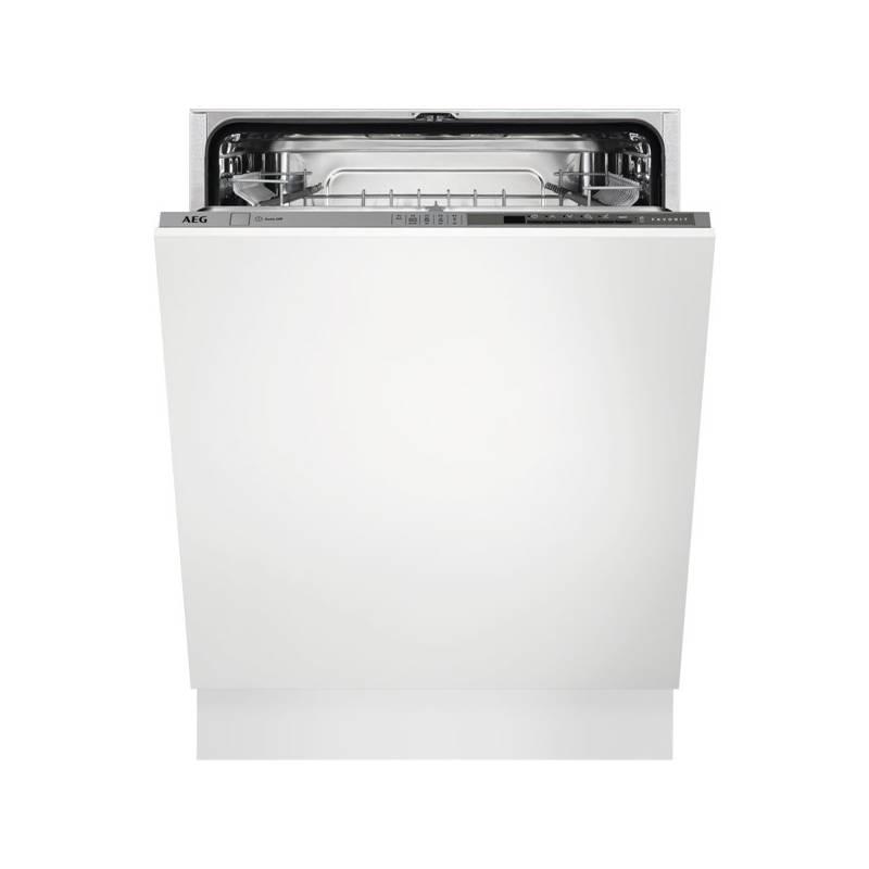 Umývačka riadu AEG FSE53630Z sivá + Doprava zadarmo