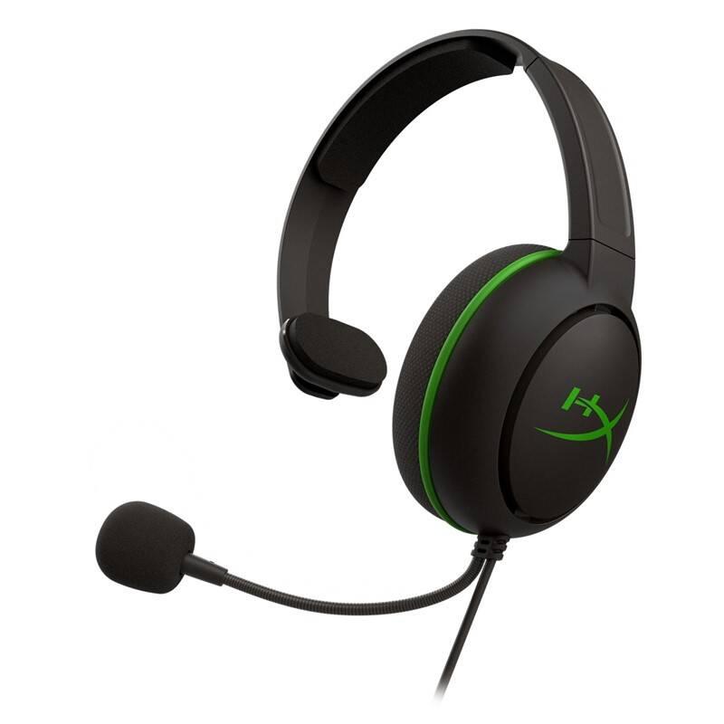 Headset HyperX CloudX Chat pro Xbox (HX-HSCCHX-BK/WW) čierny/zelený