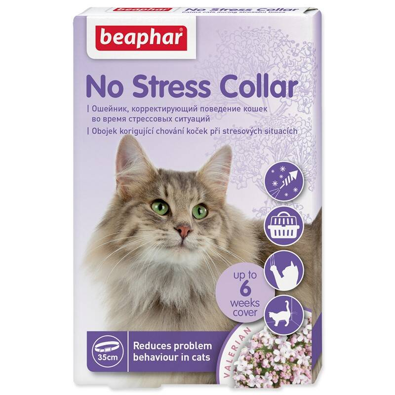 Obojek Beaphar No Stress kočka 35 cm
