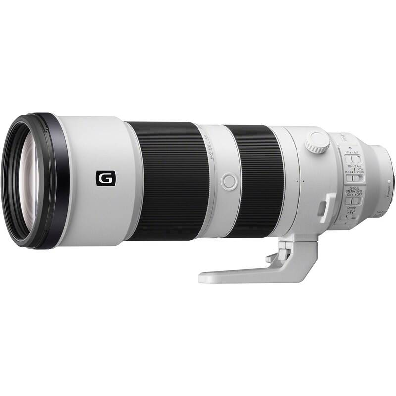 Objektív Sony FE 200-600 mm f/5.6-6.3 G OSS čierny + Doprava zadarmo