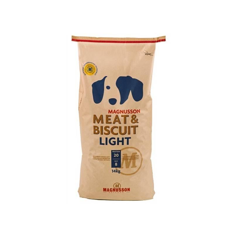 Granuly Magnusson Meat & Biscuit Light 14 kg + Doprava zadarmo