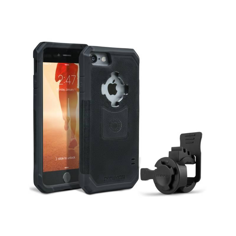 Držiak na mobil Rokform na kolo pro Apple iPhone 7 + pouzdro (3349ip7-01) čierny