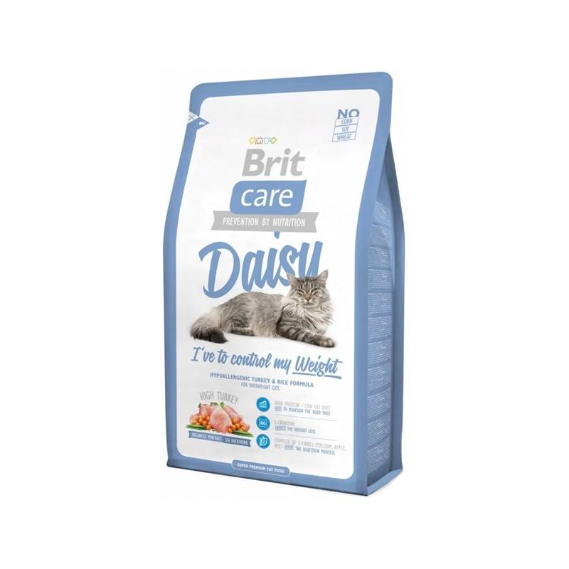 Granule Brit Care Cat Daisy I´ve to control my Weight 7 kg