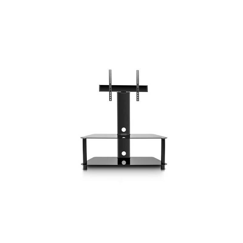 """Stolček pod TV GoGEN XL výklopný, pro úhlopříčky 32"""" až 86"""", nosnost 40 kg (TP2004L) čierny"""