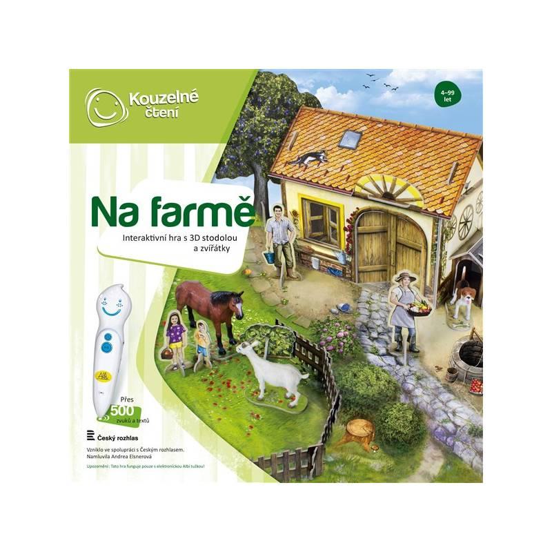 Kúzelné čítanie Albi Hra Farma 3D