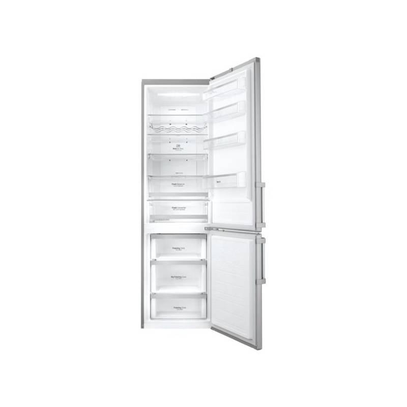 Kombinácia chladničky s mrazničkou LG GBB60SAYFE nerez + Doprava zadarmo