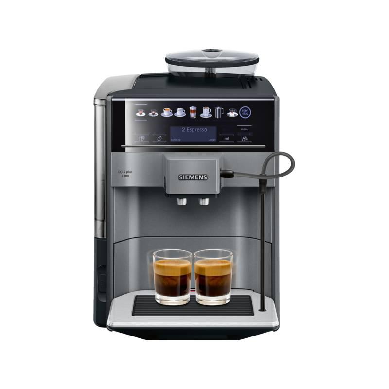 Espresso Siemens EQ.6 plus TE651209RW černé/šedé