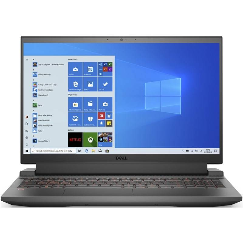 Notebook Dell Inspiron 15 G15 (5510) (N-G5510-N2-712B) sivý