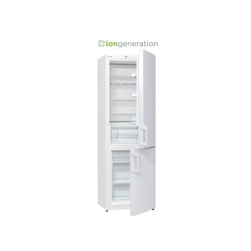 Kombinácia chladničky s mrazničkou Gorenje Essential RK6191AW biela + Doprava zadarmo