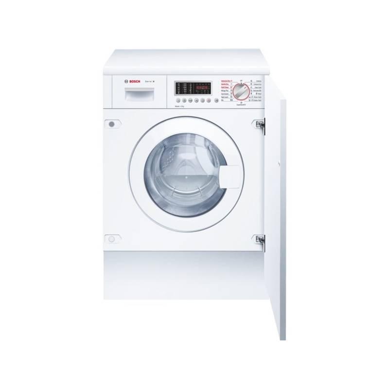 Pračka se sušičkou Bosch WKD28541EU bílá