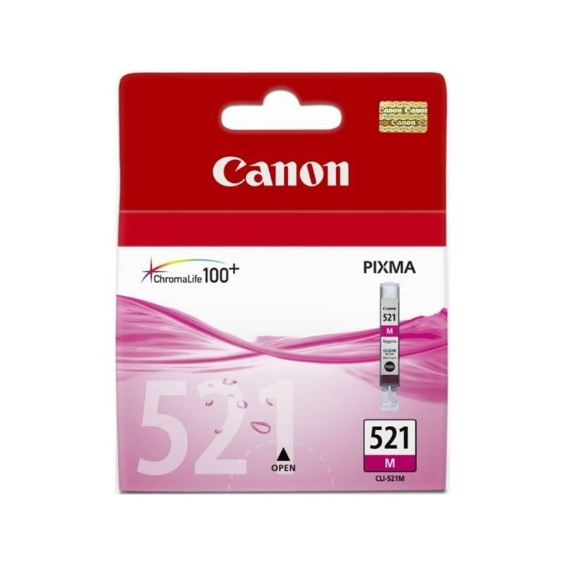 Cartridge Canon CLI-521M, 510 stran - originální (2935B001) ružová
