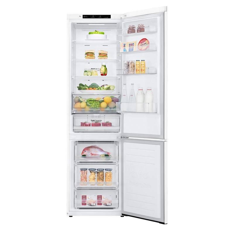 Kombinácia chladničky s mrazničkou LG GBB62SWGFN biela + Extra zľava 10 % | kód 10HOR2020 + Doprava zadarmo