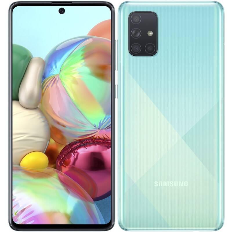 Mobilný telefón Samsung Galaxy A71 (SM-A715FZBUXEZ) modrý