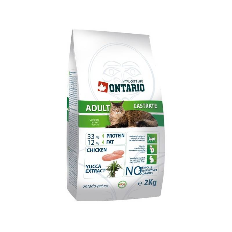 Granuly Ontario Castrate 2 kg