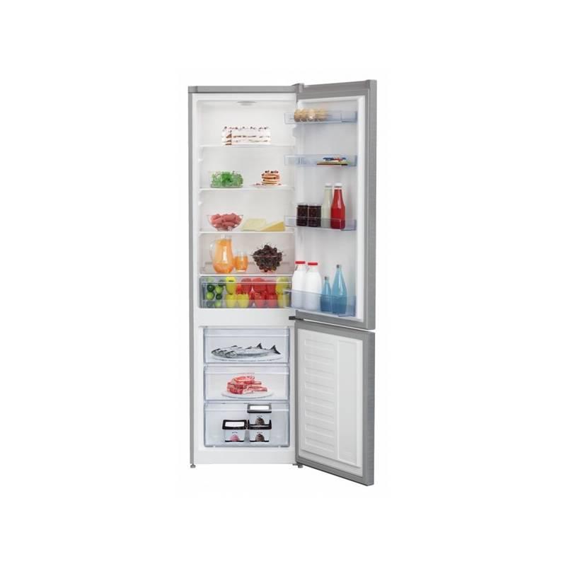 Kombinácia chladničky s mrazničkou Beko RCSA 300 K30XP Titanium + dodatočná zľava 10 % + Doprava zadarmo