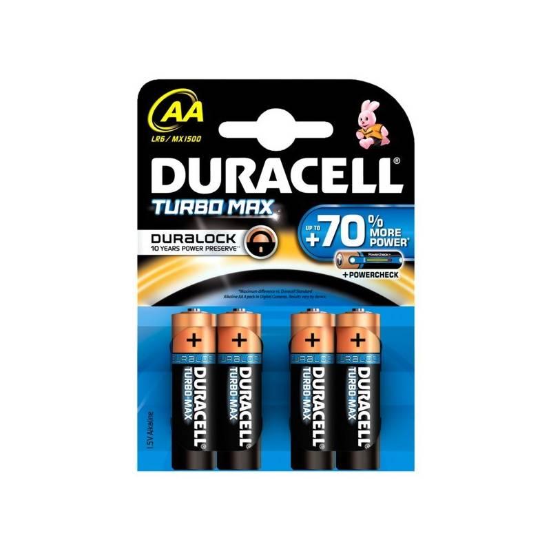 Batéria alkalická Duracell Turbo AA 1500 K4 Duralock