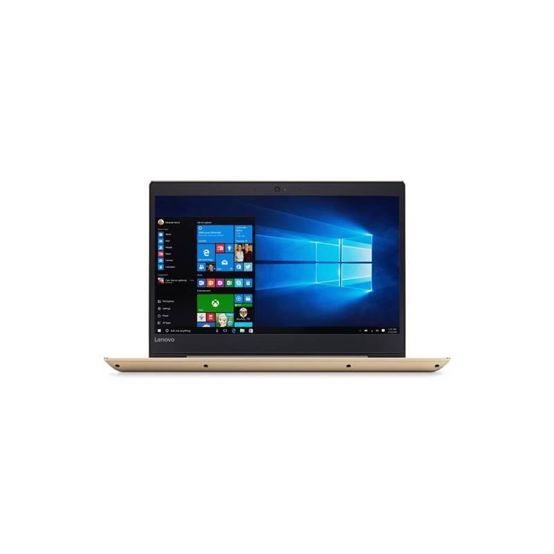 Notebook Lenovo IdeaPad 520S-14IKB (80X200F9CK) zlatý Software F-Secure SAFE, 3 zařízení / 6 měsíců (zdarma) + Doprava zadarmo