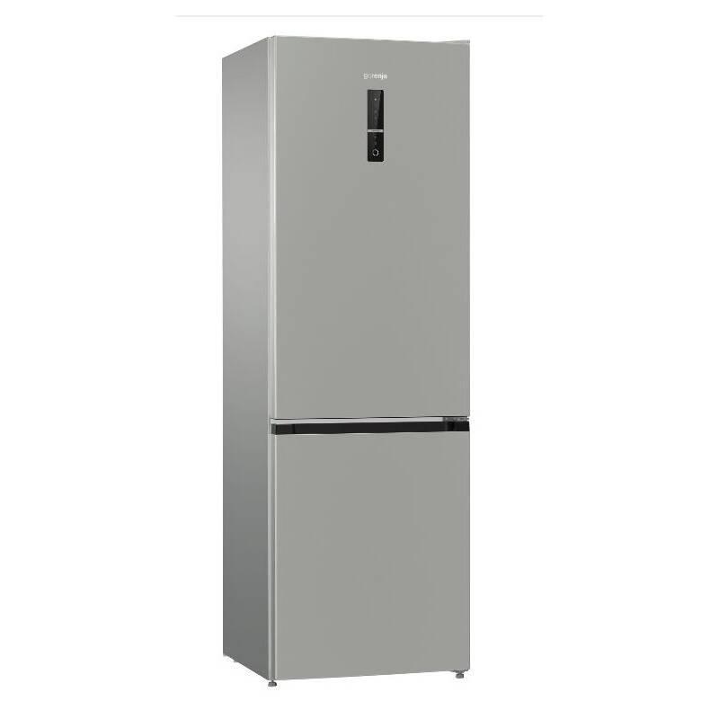 Kombinácia chladničky s mrazničkou Gorenje NRK6192MX4 nerez + Doprava zadarmo
