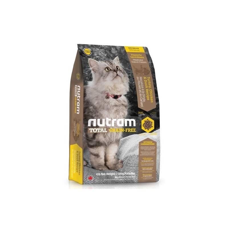 Granule NUTRAM Total Grain Free Turkey, Chicken, Duck Cat 6,8 kg