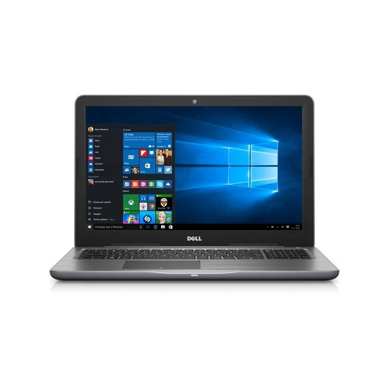 Notebook Dell Inspiron 15 5000 (5567) (N-5567-N2-713S) sivý