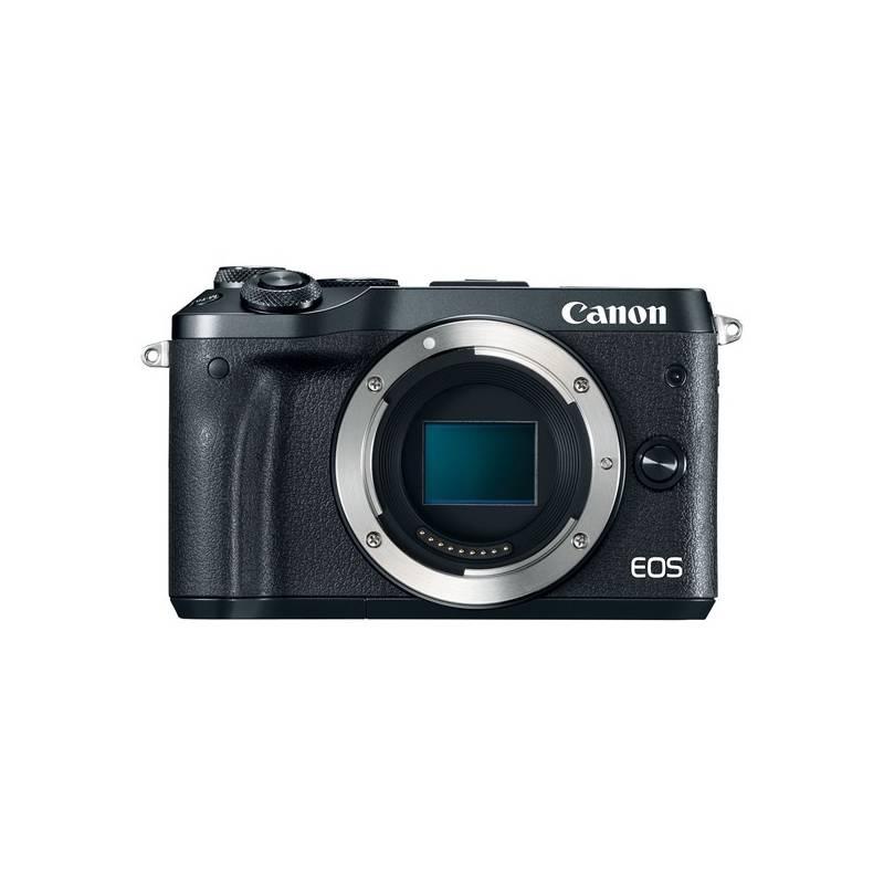 Digitálny fotoaparát Canon EOS M6, tělo (1724C002) čierny + Doprava zadarmo
