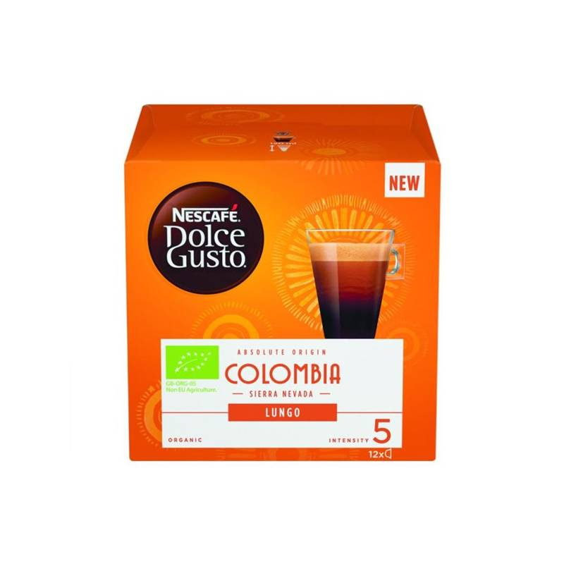 Kapsule pre espressa Nescafé Dolce Gusto Colombia