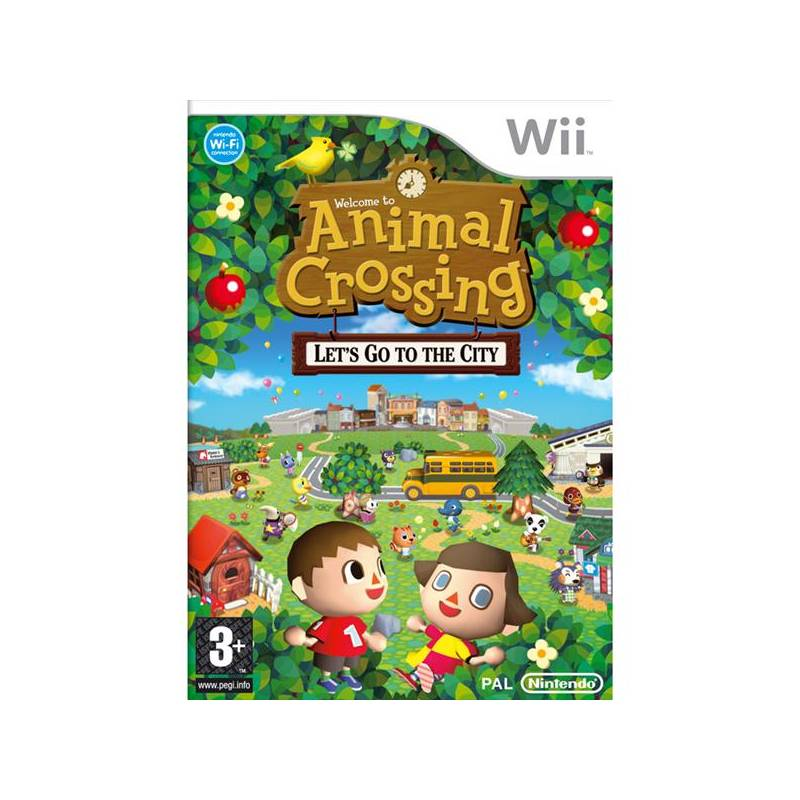 Hra nintendo wii animal crossing lets go to the city niws019 - Coupe animal crossing wii ...