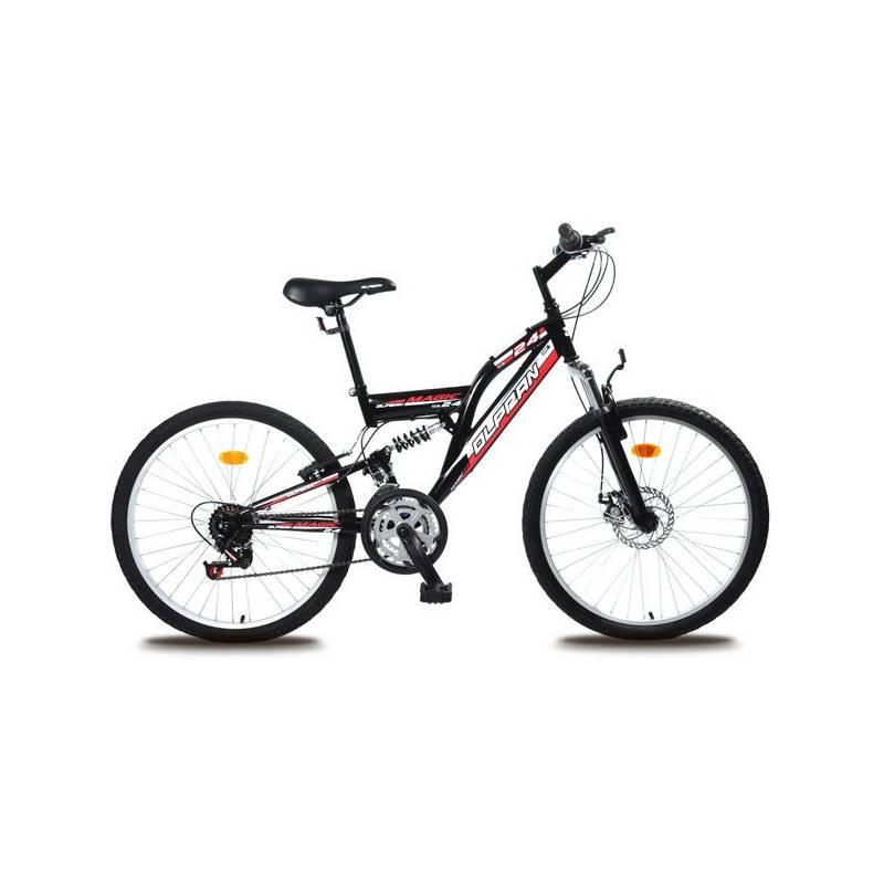 "Detský bicykel Olpran Magic Disc 24"" čierny"