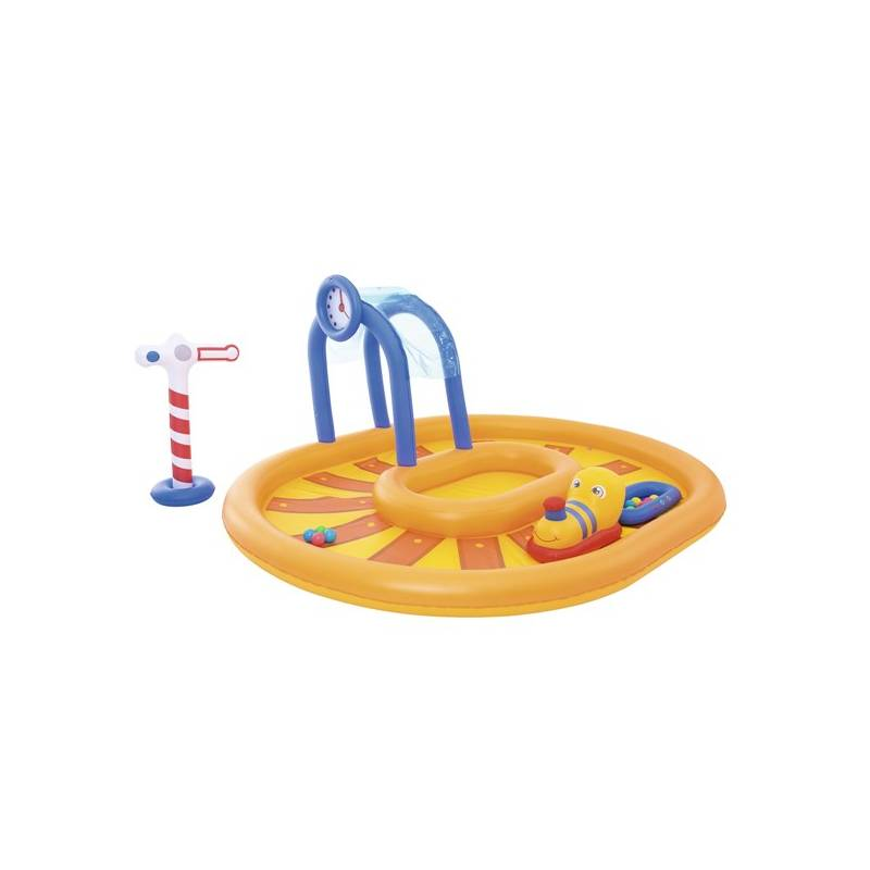 Bazénové hracie centrum Bestway Little Caboose 285x224x119 cm (53061)