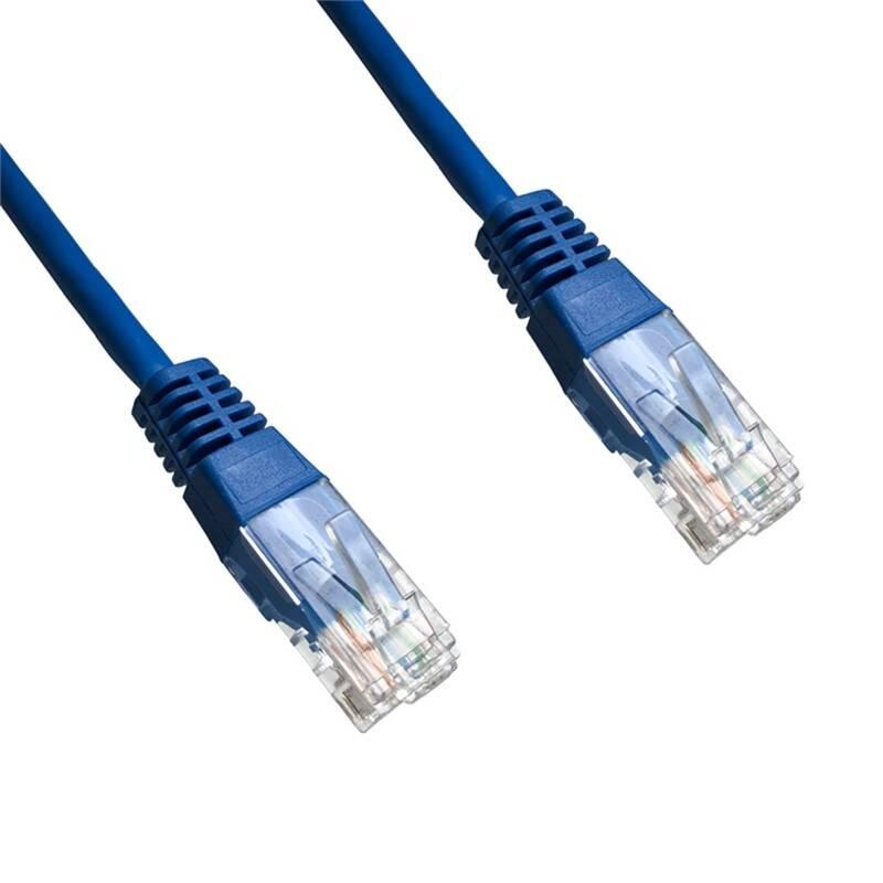 Kábel DATACOM síťový (RJ45), 0,5m (1503) modrý