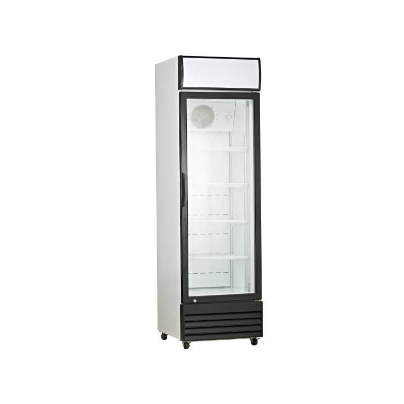 Chladiaca vitrína Guzzanti GZ 338 čierna + dodatočná zľava 10 % + Doprava zadarmo