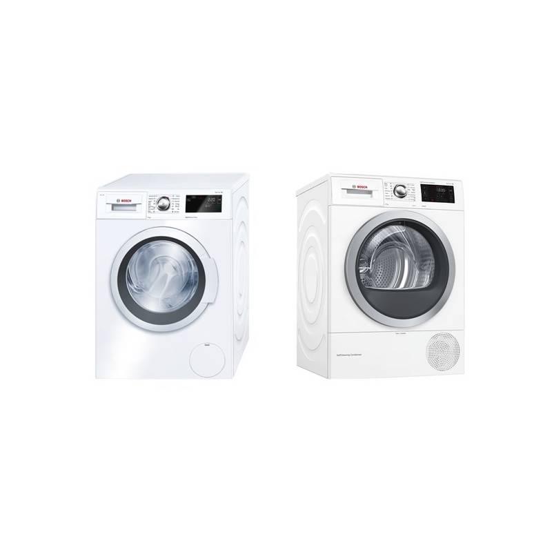 Set výrobků Bosch WAT28660BY + WTW876WBY