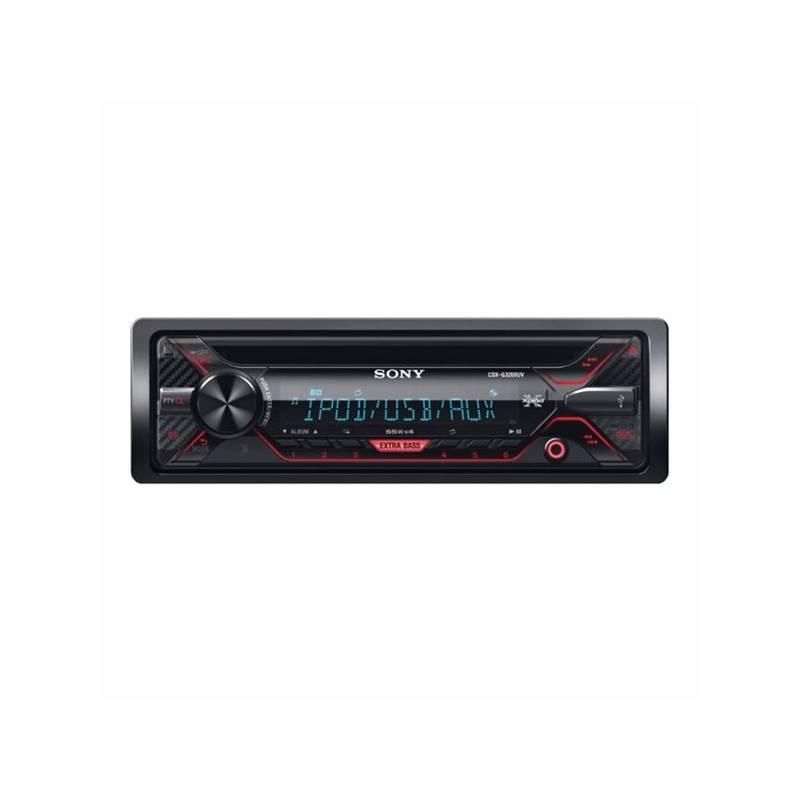 Autorádio s CD Sony CDX-G3200UV čierne