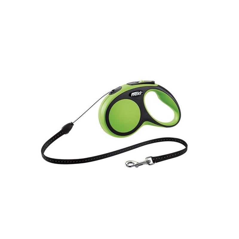 Vodítko Flexi Comfort S Lanko 5m/12kg zelené