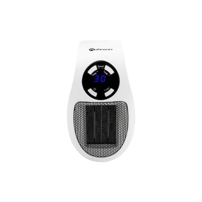 Teplovzdušný ventilátor ROHNSON R-8065 HEAT BOOSTER biely